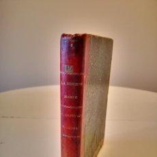 Libros antiguos: M. FERNANDEZ Y GONZALEZ LA BUENA MADRE CAPITAN FRACASA GAUTIER NOVELA ILUSTRADA BUEN ESTADO. Lote 276656733
