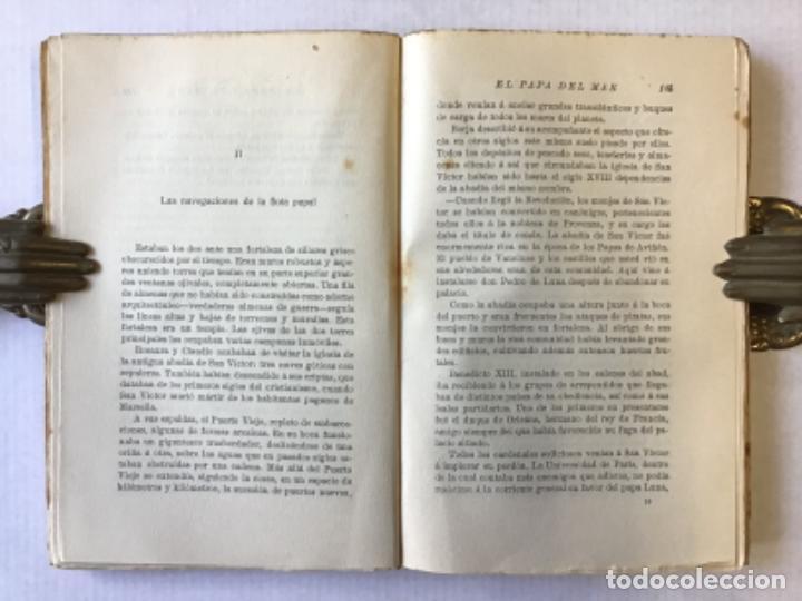 Libros antiguos: EL PAPA DEL MAR. Novela. - BLASCO IBÁÑEZ, Vicente. - Foto 3 - 123165316