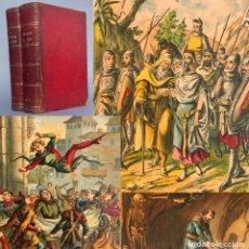 Livres anciens: 1886 - LOS AMORES DEL REY - MEMORIAS DE UN CORTESANO DE ALFONSO XI - ILUSTRADA - NOVELA. Lote 284069523