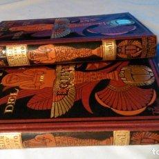 Libros antiguos: LA HIJA DEL REY DE EGIPTO- JORGE EBERS- DIBUJOS A PLUMA APELES MESTRES - 1881- TOMOS I Y II. Lote 287364923