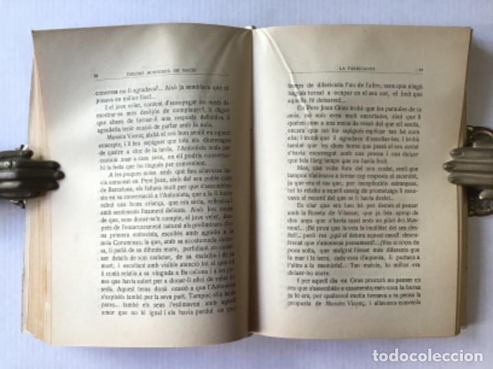 Libros antiguos: LA FABRICANTA. Novel·la de costums barcelonines (1860-1875). - MONSERDÀ DE MACIÀ, Dolors. - Foto 3 - 287421643