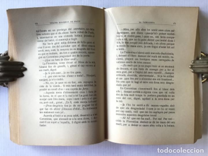 Libros antiguos: LA FABRICANTA. Novel·la de costums barcelonines (1860-1875). - MONSERDÀ DE MACIÀ, Dolors. - Foto 5 - 287421643