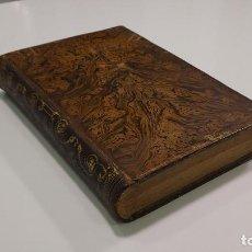 Libros antiguos: LA REDENCIÓN DEL ESCLAVO. EMILIO CASTELAR. MADRID, 1959. PLENA PIEL. LITOGRAFÍA. TOSTADO. Lote 289319258