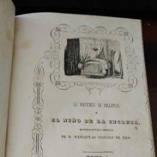 Libros antiguos: LA MARQUESA DE BELLAFLOR O EL NIÑO DE LA INCLUSA. 1847 TOMO I. D. WENCESLAO ANGUALS, PYMY B2. Lote 293756508