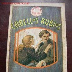 Libros antiguos: CABELLOS RUBIOS-NOVELA ITAL.DE: SALVADOR FARINA-TRA: LUIS ALFONSO-CASA EDT. MAUCCI-BAR.. Lote 18507092
