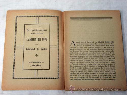Libros antiguos: Novela de Hoy N 320 Noche de amor Vicente Díez de Tejada Ed Atlántida 1928 Ilustraciones Esteban - Foto 2 - 9814345