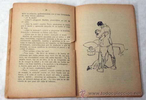Libros antiguos: Novela de Hoy N 320 Noche de amor Vicente Díez de Tejada Ed Atlántida 1928 Ilustraciones Esteban - Foto 3 - 9814345