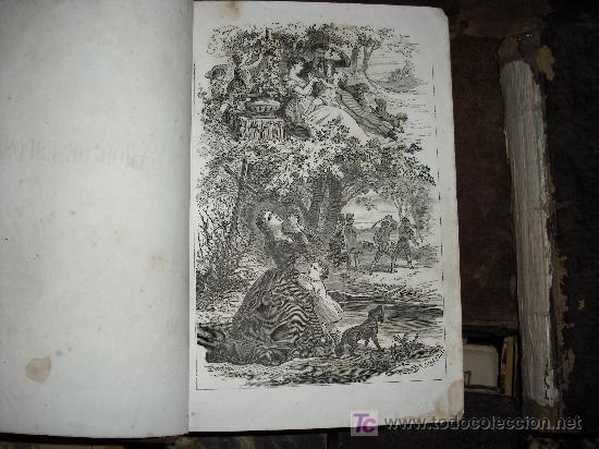 Libros antiguos: 1871 AMOR DE ESPOSA. ANTONIO DE PADUA. ESPASA HERMANOS. GRABADOS DE EUSEBIO PLANAS. 2 TOMOS - Foto 5 - 27090723