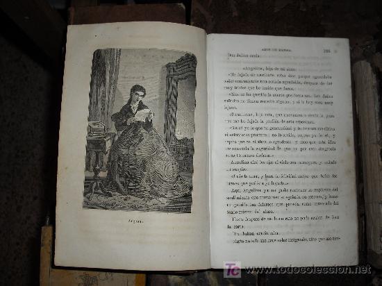 Libros antiguos: 1871 AMOR DE ESPOSA. ANTONIO DE PADUA. ESPASA HERMANOS. GRABADOS DE EUSEBIO PLANAS. 2 TOMOS - Foto 8 - 27090723