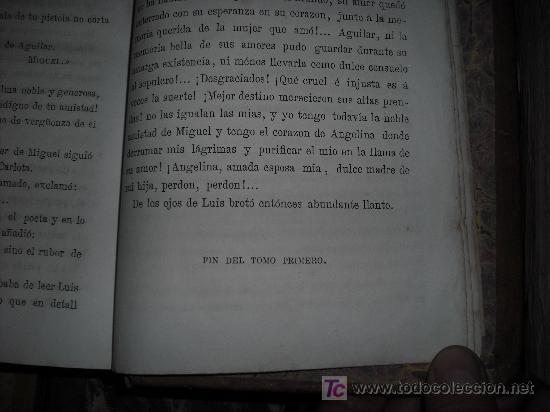 Libros antiguos: 1871 AMOR DE ESPOSA. ANTONIO DE PADUA. ESPASA HERMANOS. GRABADOS DE EUSEBIO PLANAS. 2 TOMOS - Foto 10 - 27090723