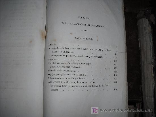 Libros antiguos: 1871 AMOR DE ESPOSA. ANTONIO DE PADUA. ESPASA HERMANOS. GRABADOS DE EUSEBIO PLANAS. 2 TOMOS - Foto 13 - 27090723