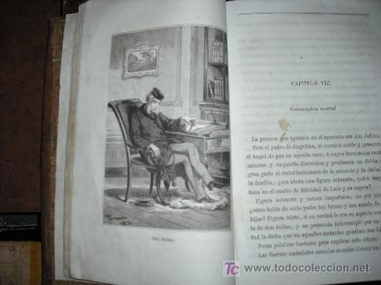 Libros antiguos: 1871 AMOR DE ESPOSA. ANTONIO DE PADUA. ESPASA HERMANOS. GRABADOS DE EUSEBIO PLANAS. 2 TOMOS - Foto 16 - 27090723