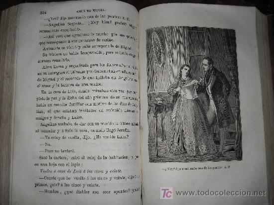 Libros antiguos: 1871 AMOR DE ESPOSA. ANTONIO DE PADUA. ESPASA HERMANOS. GRABADOS DE EUSEBIO PLANAS. 2 TOMOS - Foto 18 - 27090723