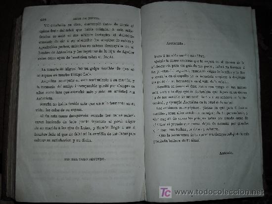 Libros antiguos: 1871 AMOR DE ESPOSA. ANTONIO DE PADUA. ESPASA HERMANOS. GRABADOS DE EUSEBIO PLANAS. 2 TOMOS - Foto 19 - 27090723