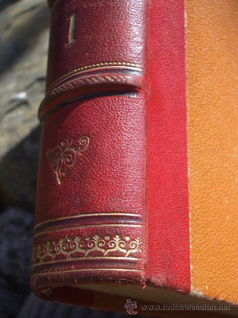 Libros antiguos: ÁLVARO CARRILLO: MÁRTIR CRIMINAL Y ABSUELTA, TOMO I, 1890, 8 CROMOLITOGRAFÍAS DE EUSEBIO PLANAS - Foto 4 - 22322693