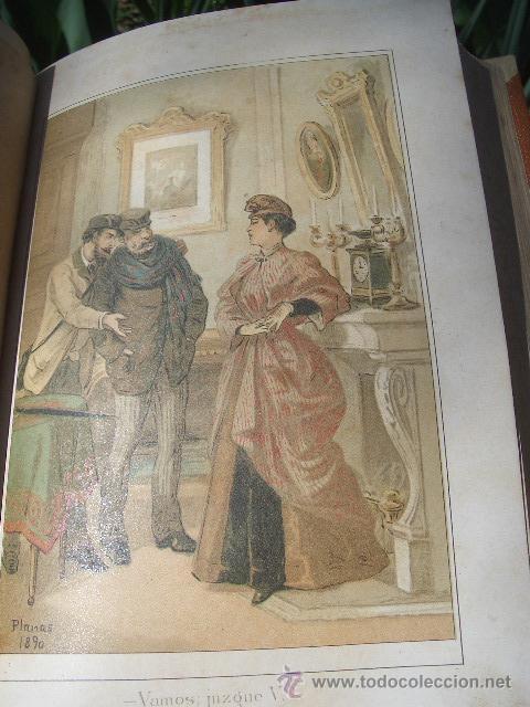 Libros antiguos: ÁLVARO CARRILLO: MÁRTIR CRIMINAL Y ABSUELTA, TOMO I, 1890, 8 CROMOLITOGRAFÍAS DE EUSEBIO PLANAS - Foto 8 - 22322693