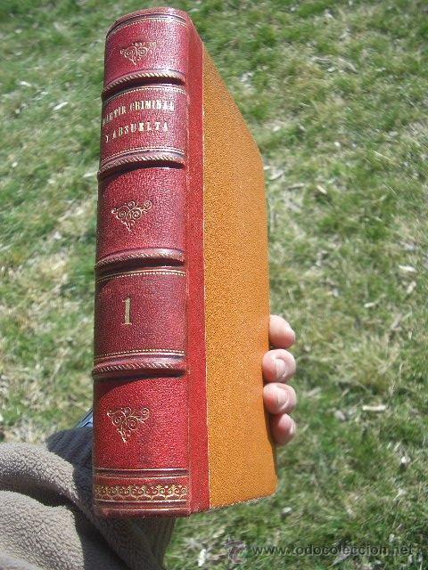 Libros antiguos: ÁLVARO CARRILLO: MÁRTIR CRIMINAL Y ABSUELTA, TOMO I, 1890, 8 CROMOLITOGRAFÍAS DE EUSEBIO PLANAS - Foto 15 - 22322693