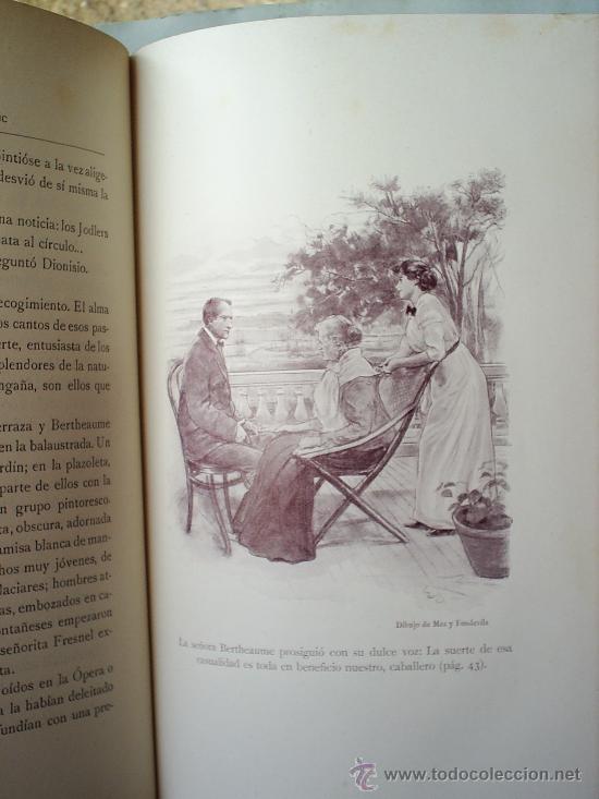 Libros antiguos: Y EL AMOR DISPONE -1912 -MATILDE ALANIC-ILUSTRACION MAS Y FONDEVILA MONTANER Y SIMON - Foto 5 - 23197681