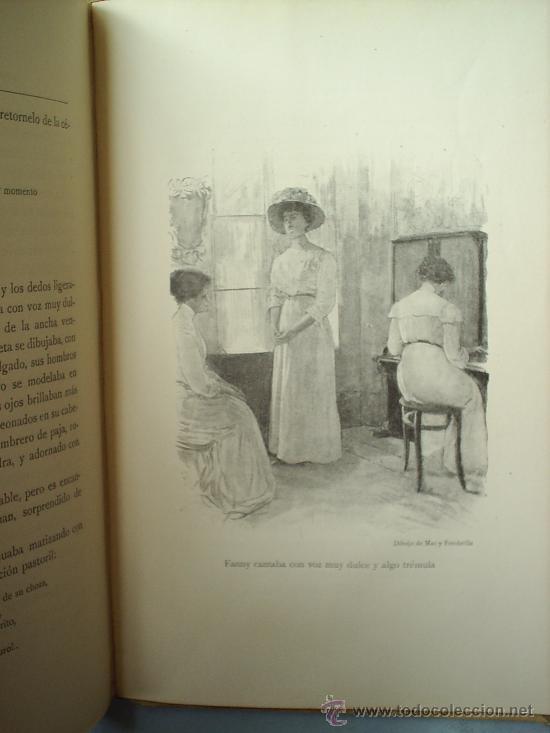 Libros antiguos: Y EL AMOR DISPONE -1912 -MATILDE ALANIC-ILUSTRACION MAS Y FONDEVILA MONTANER Y SIMON - Foto 6 - 23197681