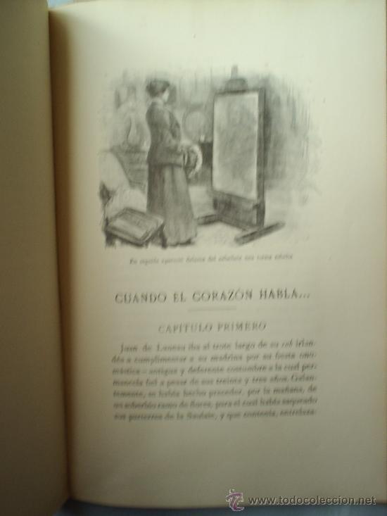 Libros antiguos: Y EL AMOR DISPONE -1912 -MATILDE ALANIC-ILUSTRACION MAS Y FONDEVILA MONTANER Y SIMON - Foto 7 - 23197681