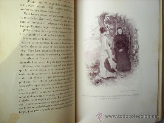Libros antiguos: Y EL AMOR DISPONE -1912 -MATILDE ALANIC-ILUSTRACION MAS Y FONDEVILA MONTANER Y SIMON - Foto 8 - 23197681