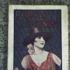 Libros antiguos: PEPITA JIMENEZ, POR JUAN VALERA - RARA EDICION EN RUSTICA - BUENOS AIRES - ARGENTINA - 1932. Lote 25462012