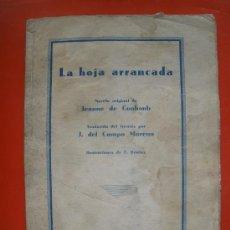 Libros antiguos: NOVELA DE LA REVISTA BLANCO Y NEGRO DEL AÑO1934. Lote 27433930