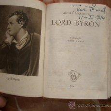 Libros antiguos: LORD BYRON. CRISOL Nº11. Lote 23589747