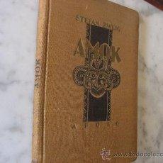 Livros antigos: AMOR,DE STEFAN ZWEIG,EDITORIAL APOLO,BIBLIOTECA FREYA.2ª EDICION AÑO 1938.. Lote 22162653