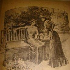 Libros antiguos: EL MONITOR DE LA MODA. FINALES DEL SIGLO XIX - NOVELITAS. Lote 25618966