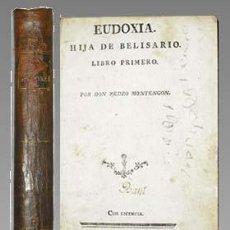 Libros antiguos: 1799C - EUDOXIA HIJA DE BELISARIO - CLASICO DE MONTENGON. Lote 27640425