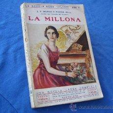 Libros antiguos: LA MILLONA ( NOVELA ROSA 1930 ). Lote 27844430