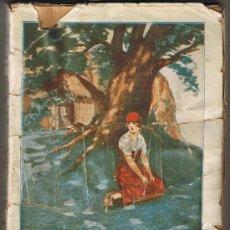 Libros antiguos: FLOR DE LIS - ALFONSO DE LAMARTINE - LA NOVELA INTERESANTE - 1936 - EXTRA - BIBLIOTECA PARA LA MUJER. Lote 27968864