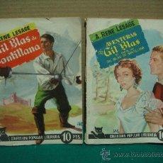 Libros antiguos: COLECCION POPULAR LITERARIA Nº 69-70 AÑO 1957. Lote 28017612