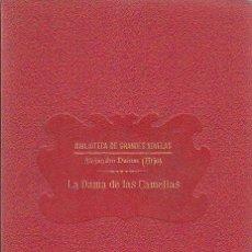 Libros antiguos: ALEJANDRO DUMAS (HIJO), LA DAMA DE LAS CAMELIAS. Lote 28509549