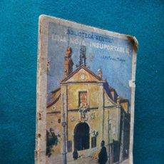 Libros antiguos: UNA NOIA INSUPORTABLE - J. M. FOLCH I TORRES - LLIBRERIA BAGUÑA - 1920-28 ? - 1ª EDICION MUY RARA.. Lote 29636736