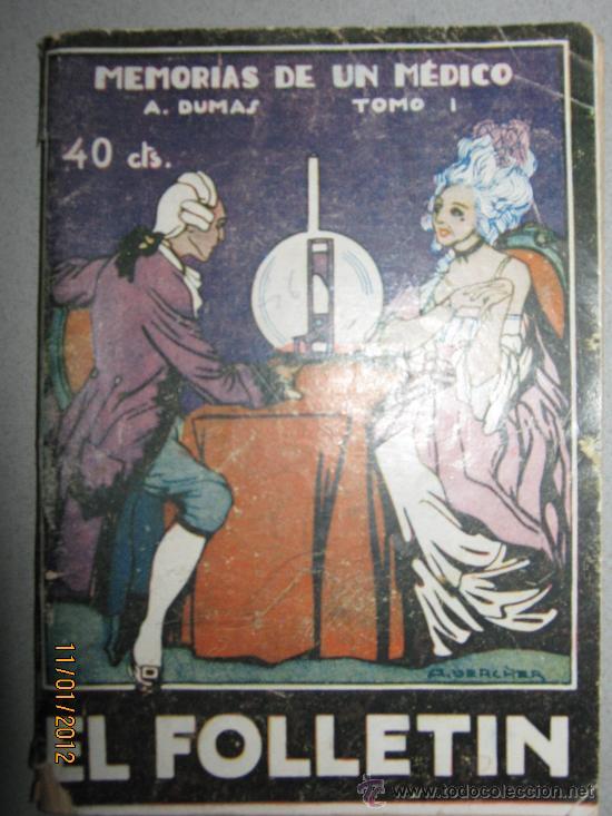 MEMORIAS DE UN MEDICO. TOMO 1. ALEJANDRO DUMAS (Libros antiguos (hasta 1936), raros y curiosos - Literatura - Narrativa - Novela Romántica)