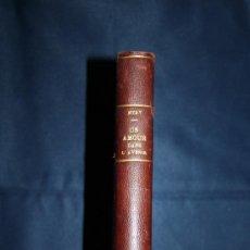 Libros antiguos: 0538- 'UN AMOUR DAS L'AVENIR' - POR MÉRY - NOUVELLE ÉDITION 1872 - ED. MICHEL LÉVY FRÈRES. Lote 30081708