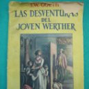 Libros antiguos: NOVELA ROMANTICA , AVENTURAS, SUSPENSE Y TEATROLAS DESVENTURAS DEL JOVEN GUATHERS. Lote 30163273