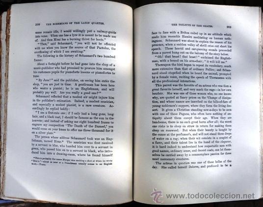 Libros antiguos: THE BOHEMIANS - HENRI MURGER - AÑO 1906 - INTERNATIONAL PUBLISHING CO. - 342 PAG - Foto 4 - 30493593
