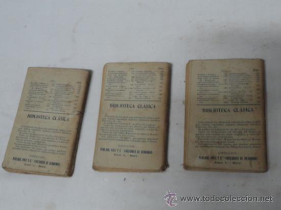 Libros antiguos: COLECCIÓN BIBLIOTECA UNIVERSAL. AÑO 1908. - Foto 2 - 30813212