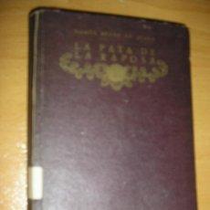 Libros antiguos: RAMON PEREZ DE AYALA-LA PATA DE LA RAPOSA-1917. Lote 31268195