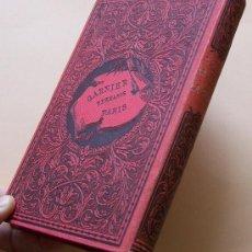 Libros antiguos: PARIS 1888 * LA HERMANA DE LA CARIDAD * EMILIO CASTELAR * TOMO SEGUNDO. Lote 31656390