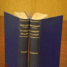 Libros antiguos: EL CORAZON EN LA MANO. MEMORIAS DE UNA MADRE, 1924, 2 TOMOS, NOVELA DE COSTUMBRES . Lote 32941743