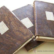 Libros antiguos: 3 VOLUMENES 1856 FOLLETIN DEL DIARIO DE BARCELONA * 1.100 PAGINAS IRVING DICKENS SCOTT ETC. Lote 33042522