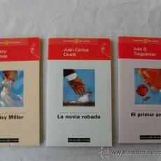 Libros antiguos: NOVELAS ROMANTICAS 3. Lote 34052867
