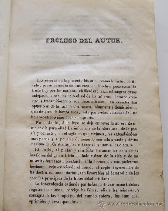 Libros antiguos: Barcelona 1853 LA CABAÑA DEL TIO TOMAS o Los negros en America * ESCLAVITUD temprana edición - Foto 5 - 34386408