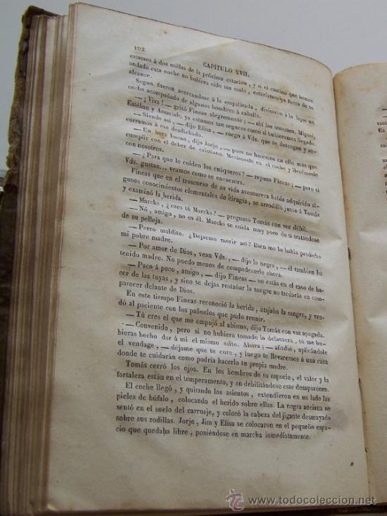 Libros antiguos: Barcelona 1853 LA CABAÑA DEL TIO TOMAS o Los negros en America * ESCLAVITUD temprana edición - Foto 8 - 34386408