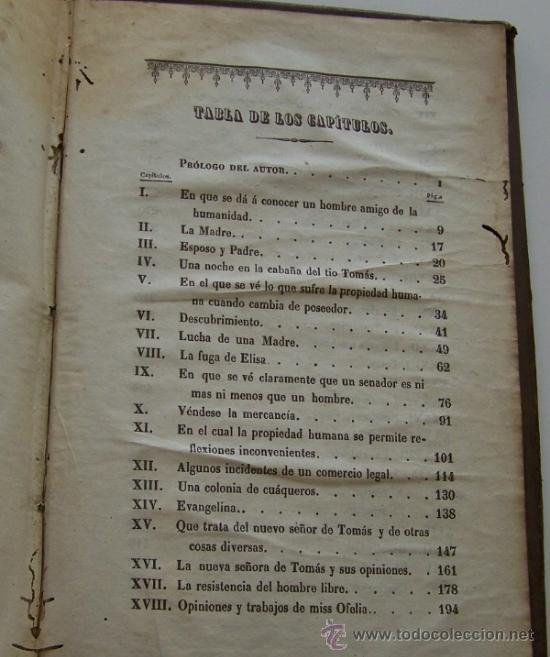 Libros antiguos: Barcelona 1853 LA CABAÑA DEL TIO TOMAS o Los negros en America * ESCLAVITUD temprana edición - Foto 9 - 34386408
