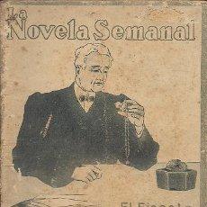 Libros antiguos: EL FISCAL (LUIS CÁNOVAS) 1922 . Lote 34432241